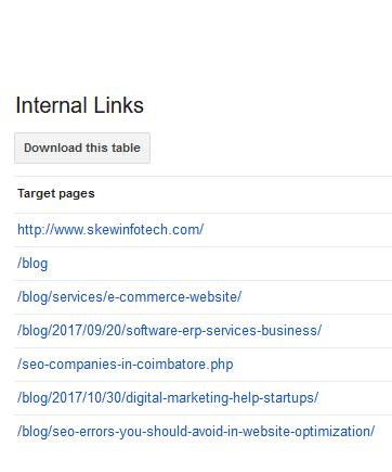 internallinks