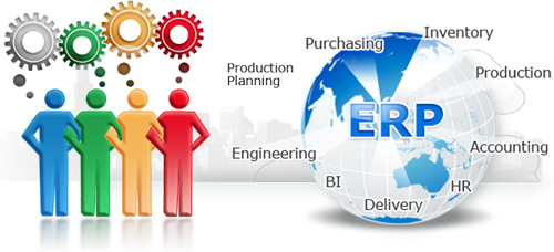 Business solution offering through ERP usage
