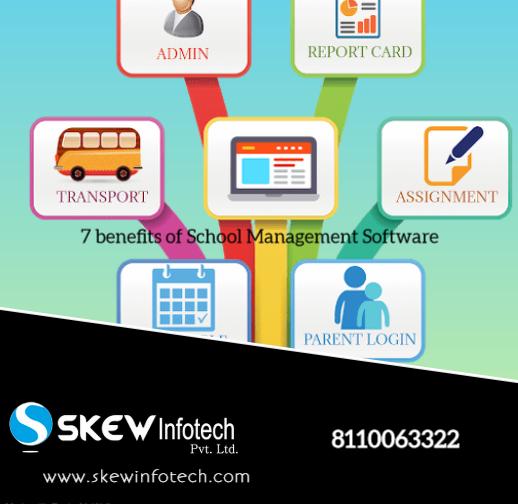 Top 7 benefits of school management sofware